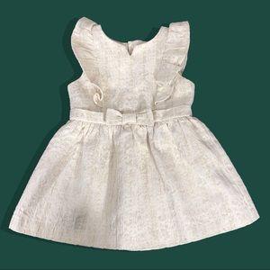 EUC OshKosh 18 M Christmas Infant Party Dress